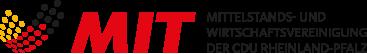 Logo der Mittelstands- und Wirtschaftsvereinigung der CDU Rheinland-Pfalz