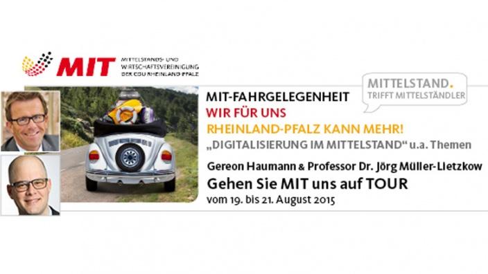 MIT auf TOUR: Rheinland-Pfalz kann mehr!