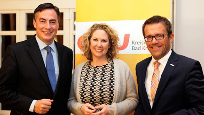 Empfang der MIT Rheinland-Pfalz mit David McAllister MdEP, Bettina Dickes MdL und Gereon Haumann, Landesvorsitzender